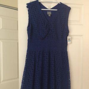 Rabbit rabbit dress size XL Royal blue, lined